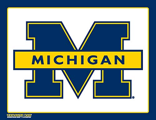 Wow!Pad Extra Large 9' x 12.5' Collegiate Tailgate Gaming Mouse Pad, Made in USA, University of Michigan