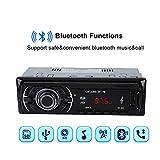 Diyeeni Bluetooth-Sound, FM-Autoradio für MP3-Player, Stereo-SD-Karte für Bluetooth-Digitalfahrzeuge MP3-Player für FM-Autoradio, Unterstützt SD-Karte/U-Disk