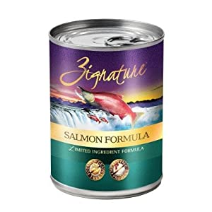 Zignature Salmon Formula Grain-Free Wet Dog Food 13oz, case of 12