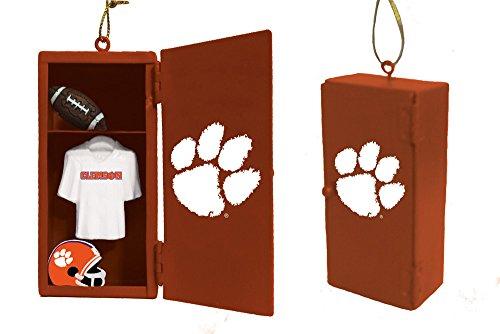 Team Sports America Clemson Tigers Team Locker Ornament