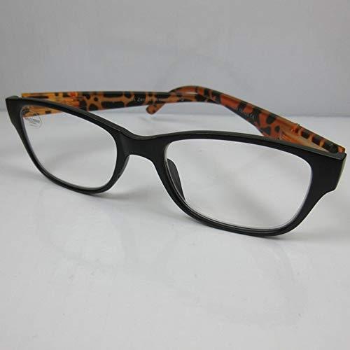 Fitsch Online UG Moderne Lesehilfe +2,0 braun SIE & IHN Metallverziehrung Lesebrille Fertigbrille