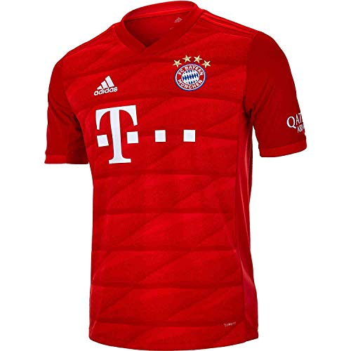 adidas Youth FC Bayern 19/20 Home Jersey (Youth Medium) Red