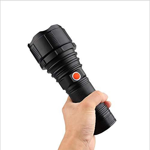 weiwei Torche Lampe de Poche LED Super Grande Lampe de Torche Ultra Puissante Ajustable Zoomable Étanche Torche Convient pour Le Activités Extérieurs Camping randonnée pêche de Nuit