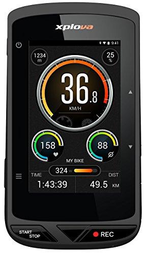 Xplova X5 – Ordinateur de vélo GPS avec caméra vidéo