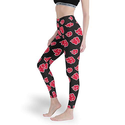 DOGCATPIG Material de secado rápido yoga leggings de entrenamiento Xiangyun cintura alta impresión pantalones de yoga para entrenamiento s blanco