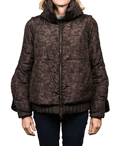 Moncler Chaqueta de plumón para mujer, color marrón, talla 0-40