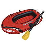 Kayak Inflatable Boat Thick Wear-Resistant Fishing Boat Fast Travel Canoe, 1 Person