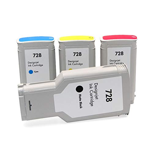 728 Cartucho, F9J67A F9J66A F9J65A F9J68A Plotter Cartucho, para HP Designjet T830 T730, color Full set size
