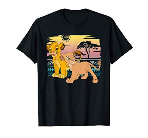 Disney The Lion King Young Simba Nala 90s T-Shirt