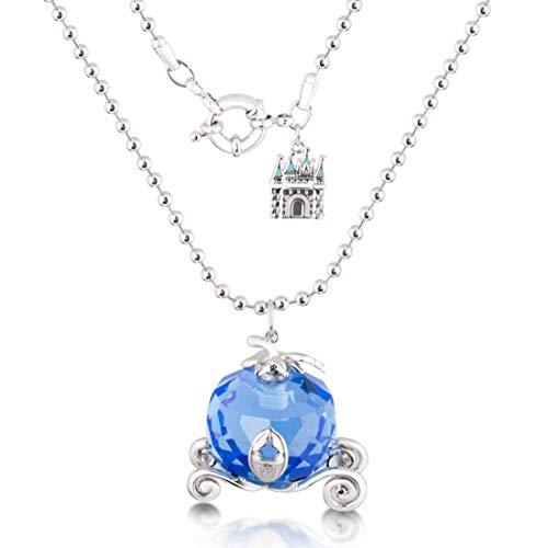Goebel Couture Kingdom Cinderella Halskette Kürbis Kutsche, Hals Kette, Anhänger, Schmuck, Weißgold, 12100561