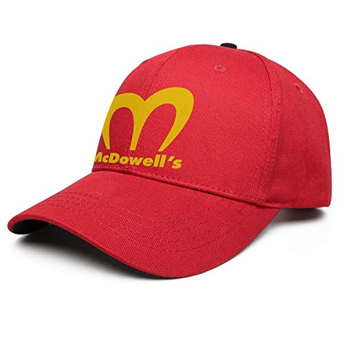 Coming-to-America-Movie-McDowell's- Women Cowboy Versatile Cap ColorName Sports Hat