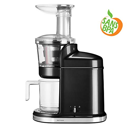 Kitchenaid 5KVJ0111EOB Kitchenaid Artisan Slow Juicer Entsafter Onyx, schwarz