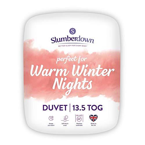 Slumberdown Warm Winter Nights Single Duvet 13.5 Tog Winter Duvet Single Bed