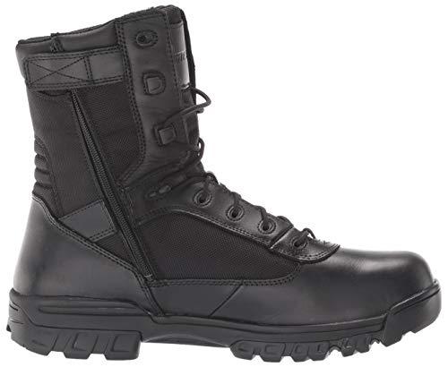 Bates Mens Tactical Sport 8 inch Black Leather Boots 43.5 EU