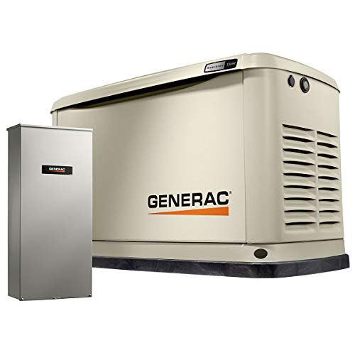 Generac G007174 13 kW Guardian Home Standby Generator, Bisque