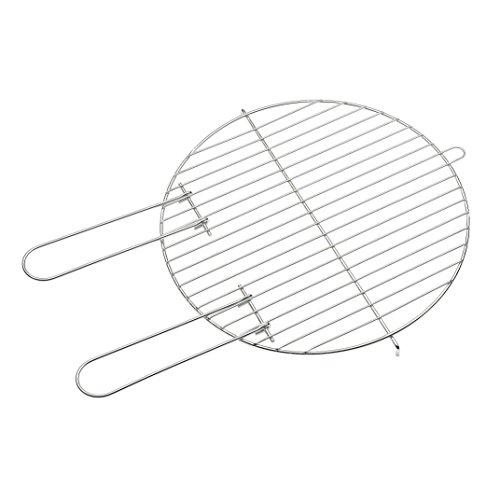 Barbecook Grille de cuisson acier chromé pour Basic/Loewy 40 cm, 40 cm