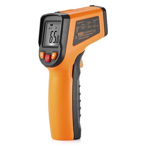 Termometro A Infrarossi Termometro A Infrarossi Laser Digitale Senza Contatto Con Display LCD, Termometro Da Cucina, Pistola Di Temperatura -58℉~716℉ (-50℃~380℃)