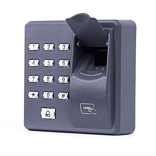 ZQY vingerafdruk toegangscontrole onafhankelijke enkele deur controller goedkoopste onafhankelijke toetsenbord vinger + RFID kaart deur ingang