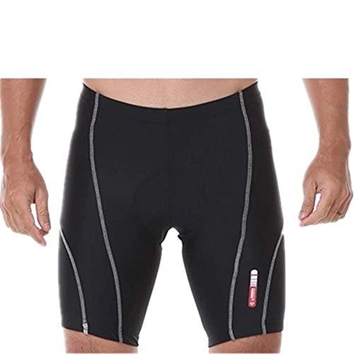 Belleashy Pantalones de ciclismo deportivos Pantalones cortos de ciclismo de silicona para ciclismo al aire libre Running Bicicletas entrenamiento (tamaño: XXXL; color: gris)