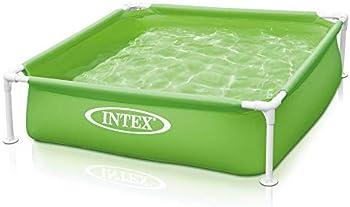 Intex Mini Frame Kids 48 x 48 x 12 Inch Beginner Kiddie Swimming Pool