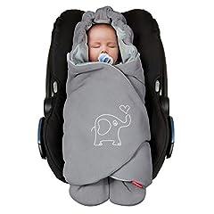 ByBoom Baby impact deken voor de overgangsperiode en zomer voor babydrager, autostoeltje, bijvoorbeeld Maxi-Cosi, Römer, voor kinderwagen, buggy, baby drager, bijvoorbeeld manduca, kinderbed*