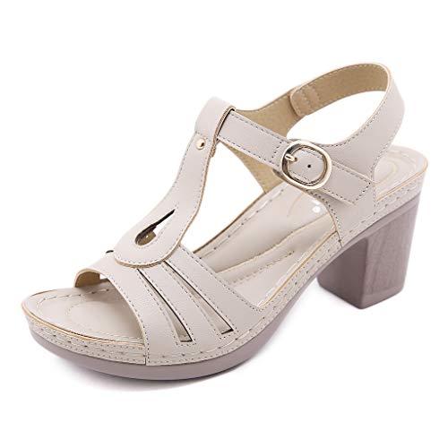Zapatos para Mujer-Sandalias de Tacon Alto de Aguja-Elegantes-Novia-Boda-Nupcial-Vestido de Fiesta-Punta Abierta-Correa de...