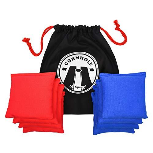 GoSports Premium All-Weather Duck Cloth Cornhole Bag Set