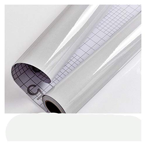 HYCSP Wasserdicht White Pearl Wall Schrank Self Adhesive Tapeten Möbel Renovierung Aufkleber Küche Wohnkultur (Color : Gray, Size : 3m x 40cm)