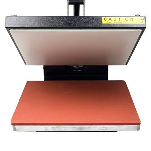 HobbyCut H001-S Transferpresse 38cm x 38cm Textilpresse 1800 Watt - 7