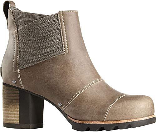 Sorel Addington Chelsea Boot - Women's Pebble/Jet 7.5