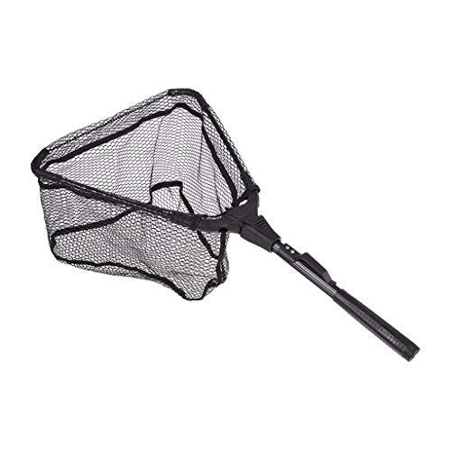 Fan-Ling Fishing Net, Watherproof Nylon Mesh,Collapsible Portable Fish Net,Lightweight Folding Telescoping Pole Fishing Landing Net,for Sea Fishing, River Fishing, Lake Fishing, Boat Fishing