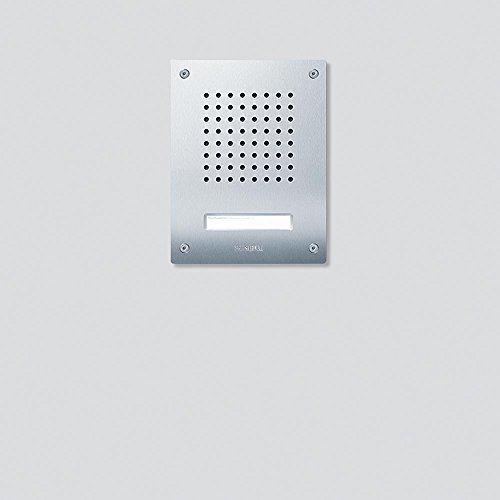Siedle 4067552 Türstation Audio Unterputz Classic, 1T, Draht, CL 111-1 R-02, Edelstahl