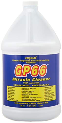 GP66 Green Miracle Cleaner Gallon (1, gal.) Cleans and degreases just About Anything Anywhere! Oven Cleaner Grease Cleaner Laundry Detergent Grout cooktop Cleaner Carpets Wood Cleaner and More!