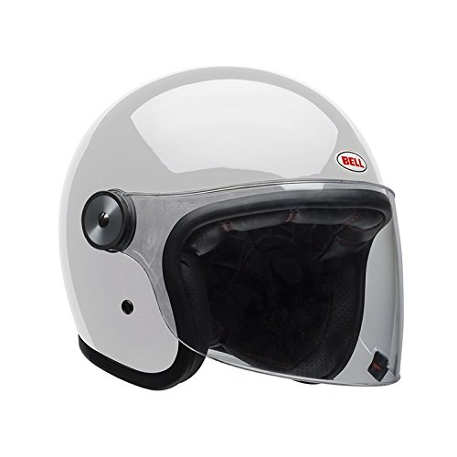 Bell Helmets BH 7084471 Bell Riot Blanco Solid L, Hombre, Large