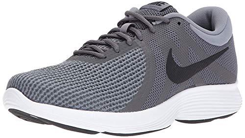 Nike Men's Revolution 4 Running Shoe, Black/White-Anthracite, 9.5 Regular US