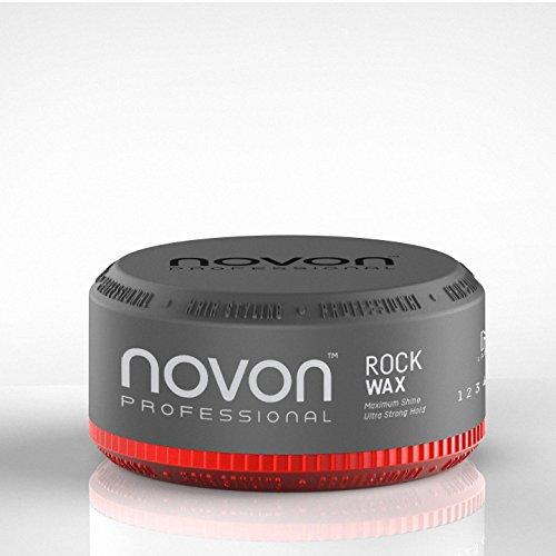 3 x Novon Professional Rock Wax 150ml - Aqua Hair Wax - angehmener Duft