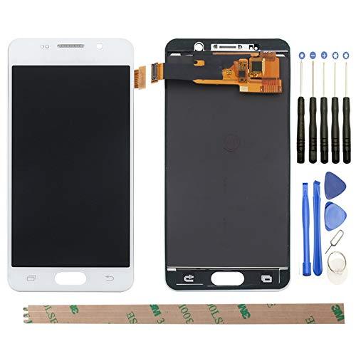 YHX-OU, schermo touchscreen LCD di ricambio per Samsung Galaxy A3, SM-A310F 2016 A310, con attrezzi