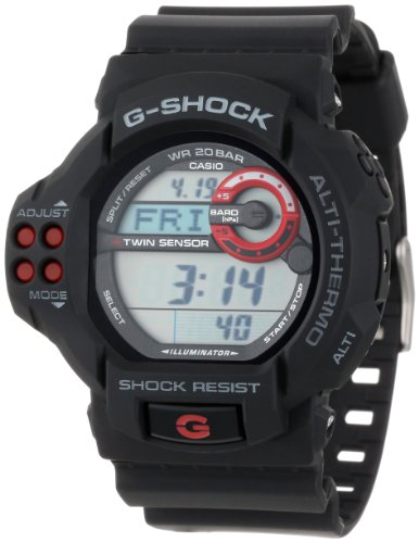 """Casio Men's GDF100-1A """"G-Shock"""" Sport Watch with Black Resin Band"""