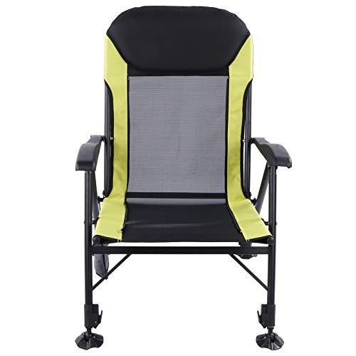 Omabeta Salón reclinable Plegable Multifuncional Silla de Pesca Silla Plegable Construcción Estable para Invierno Verano Actividades al Aire Libre Camping Pesca