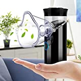 Travel Handheld Vaporizer Machine Professional Cool Mist Humidifier Machine for Kids & Adultsl and Home Daily Use Black