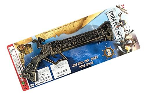 TOINSA- Pistola Pirata Blister Armas y proyectiles, Multicolor (03-0588)