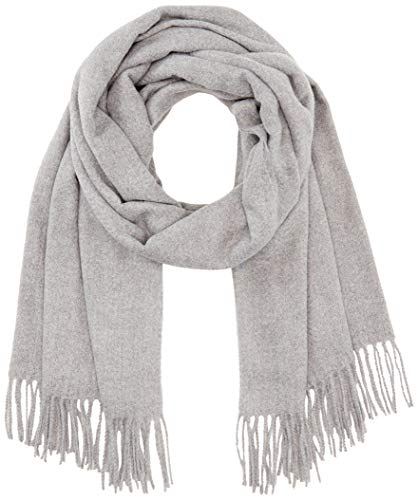 PIECES Damen PCKIAL NEW LONG SCARF NOOS BC Schal, Light Grey Melange, ONE SIZE