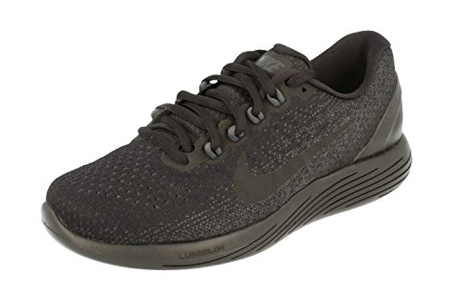 Nike Womens Lunarglide 9 Running Trainers 904716 Sneakers Shoes (UK 2.5 US 5 EU 35.5, Black Anthracite Volt 007)