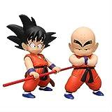 Anime Dragon Ball Z Figura De Juguete 19-22 Cm,Kuririn Y Son Goku Figura De Acción PVC Figurita Mo...