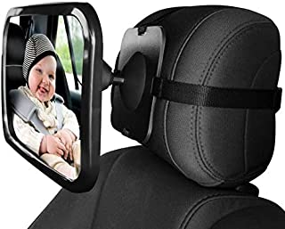 Back Seat Mirror Baby Car Mirror for Keeping an eye on Rear Facing Babies.