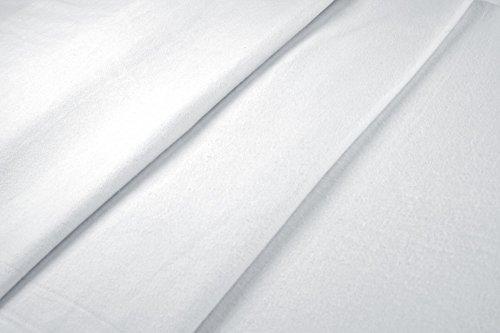 Akustikstoff weiß Meterware 200 cm Molton
