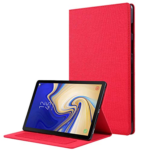 HSKB tablet beschermhoes voor Samsung Galaxy Tab S5E SM-T720 T725 modedesign PU-leer flip case standplaats val afdekking case cover hoes auto sleep/wake-up