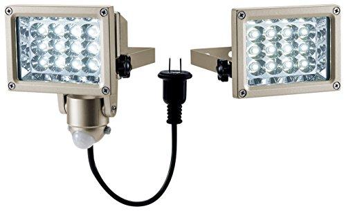 高儀 EARTH MAN AC100V LEDジョイントセンサーライト SLT-12LJA