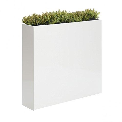 Probell Blumenkasten 55 x 23 cm, h 85 cm - weiß