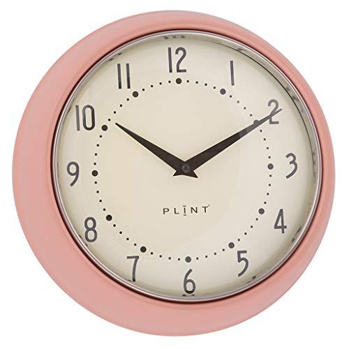 Plint Retro Wanduhr Uhr Küchenuhr Dänisches Design Wall Clock Rose